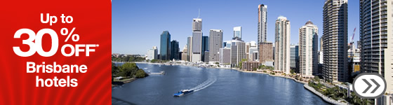 Save up to 30% on selected hotels in Brisbane at Webjet.com.au