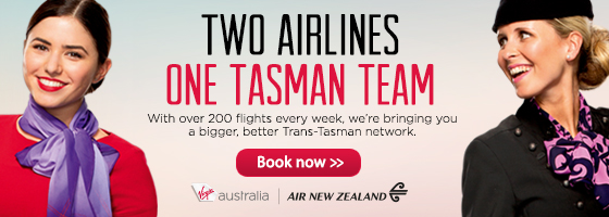 Great airfares across the Tasman sale for one day only at Zuji.com.au